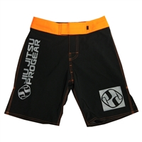 Jiu Jitsu ProGear Kids Shorts - Belt Ranked - Orange