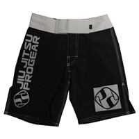 Jiu Jitsu ProGear Kids Shorts - Belt Ranked - Gray