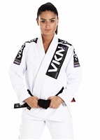 Vulkan - VKN PRO Jiu-Jitsu Gi - WOMENS WHITE with PURPLE
