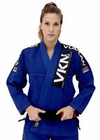 Vulkan - VKN PRO Jiu-Jitsu Gi - WOMENS BLUE with PURPLE