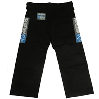 Jiu Jitsu ProGear - PANTS ONLY - BLACK (Blue Patch)