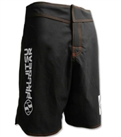 Jiu Jitsu ProGear 2-Way Stretch Shorts - BLACK w/ Red Stitching