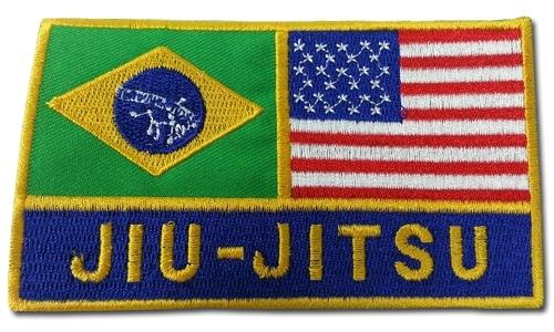 Patch Flag Brazilian Jiu Jitsu