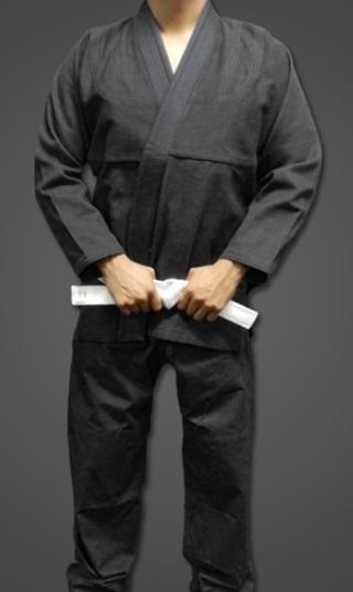 Basic Bjj Gi Adult Size Black Plain Gi Plain Kimono