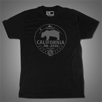 JJPG T-shirt - California Lifestyle - Black with Gray Print
