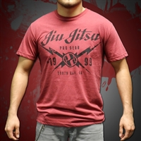 Jiu Jitsu ProGear - South Bay Tee - Cardinal,