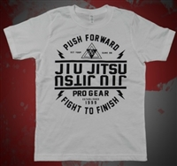 JJPG T-shirt - YOUTH SIZE - Push Forward - White