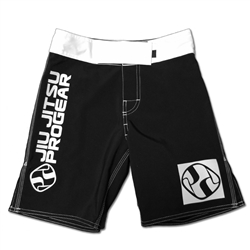 Jiu Jitsu ProGear Kids Shorts - Belt Ranked - White