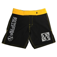 Jiu Jitsu ProGear Kids Shorts - Belt Ranked - Yellow
