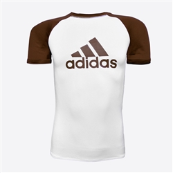 Adidas - Rash Guard - SS - IBJJF Competition Rashguard - Brown Belt