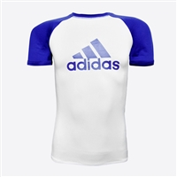 Adidas - Rash Guard - SS - IBJJF Competition Rashguard - Blue Belt
