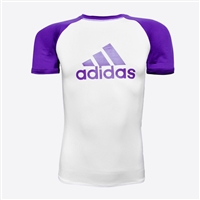 Adidas - Rash Guard - SS - IBJJF Competition Rashguard - Purple Belt
