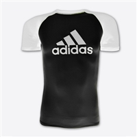 Adidas - Rash Guard - SS - IBJJF Competition Rashguard - White Belt