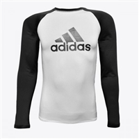 Adidas - Rash Guard - IBJJF Competition Rashguard - Black Belt