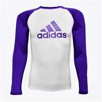 Adidas - Rash Guard - IBJJF Competition Rashguard - Purple Belt