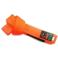 Fuji IBJJF Approved Kids Belt - Orange