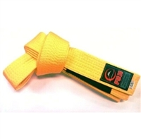 Fuji IBJJF Approved Kids Belt - Yellow