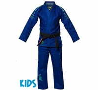 FUJI Sports KIDS Gi Blue Blossom