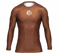 FUJI Baseline Ranked Rashguard Brown