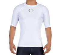 FUJI Baseline Ranked Short Sleeve Rashguard White