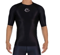 FUJI Baseline Ranked Short Sleeve Rashguard Black