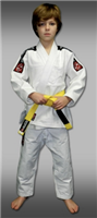 Jiu Jitsu Progear - KIDS - Competition Gi - WHITE