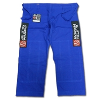 Jiu Jitsu Progear Rip-Stop PANTS ONLY - BLUE (Red Patch)