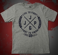 JJPG Live to Fight - Youth - Gray Blue