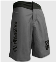 Jiu Jitsu ProGear 2-Way Stretch Shorts - Grey