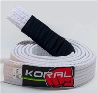 Koral BJJ Belt - White