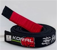 Koral BJJ Belt - Black