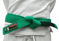 Koral BJJ Kids Belt - Green