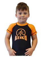Keiko - NEW Kids Comp Team Rashguard - Orange