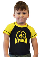 Keiko - NEW Kids Comp Team Rashguard - Yellow