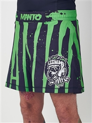 "MANTO ""ZOMBIE"" SHORTS Black"