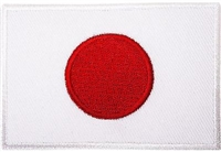 Patch - Flag - Japan