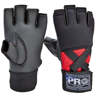Pro Boxing Gel Hand Wraps - Black