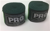 Pro Boxing Hand Wraps - METAL GREEN