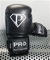 Pro Boxing Equipment -Training Gloves - Black