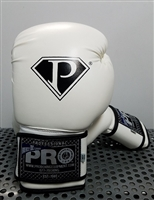 Pro Boxing Equipment -Training Gloves - White