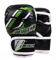 Revgear Youth Deluxe MMA Gloves - Black/Green