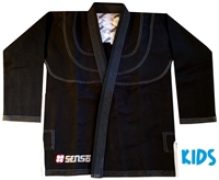 "Senso KIDS ""The Academy Gi"" - Black"