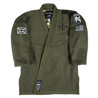 Tatami x Reorg Jungle Jiu Jitsu Gi - Army Green