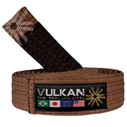 Vulkan Adult BJJ Belt - Brown