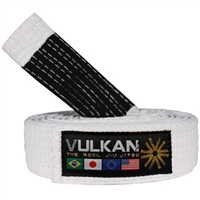 Vulkan BJJ Belt - White