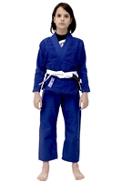 Vulkan Pro Light KIDS Jiu-Jitsu Gi - BLUE with LILAC Patches