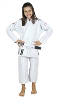 Vulkan Girls PRO EVOLUTION KIDS Jiu-Jitsu Gi - White