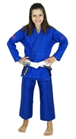 Vulkan Girls PRO EVOLUTION KIDS Jiu-Jitsu Gi - Blue