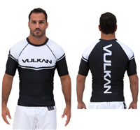 Vulkan Power Comp Rashguard Short/Sleeve Black