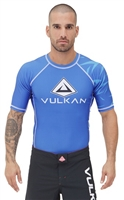 Vulkan Challenge Rash guard Short/Sleeve Blue